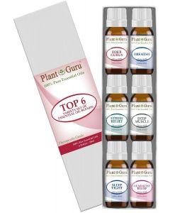 Essential Oil Blends Variety Set - 6 Pack