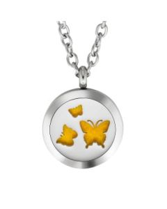 Plant Guru Diffuser Necklace (Butterfly #1)