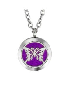 Plant Guru Diffuser Necklace (Butterfly #2)