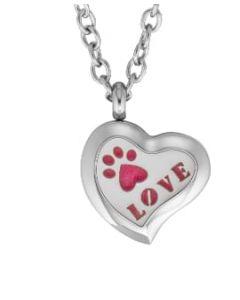 Plant Guru Diffuser Necklace (Heart Pet Love)