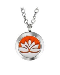 Plant Guru Diffuser Necklace (Lotus)