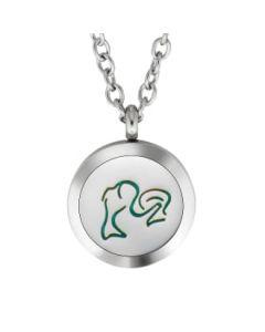 Plant Guru Diffuser Necklace (Pisces Zodiac)