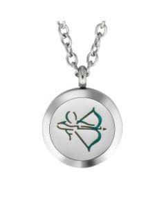 Plant Guru Diffuser Necklace (Sagittarius Zodiac)