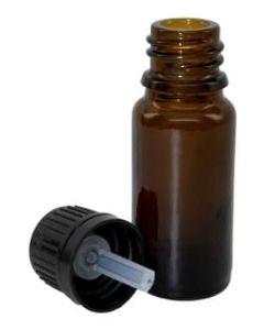 Amber Glass Bottles - 10 ml (Set of 4)