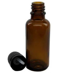 Amber Glass Bottles - 30 ml (Set of 4)