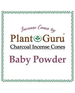 Baby Powder Incense Cones
