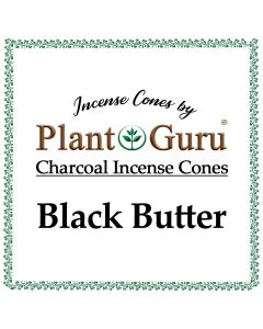 Black Butter Incense Cones