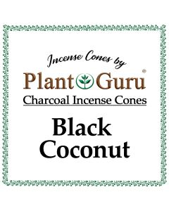 Black Coconut Incense Cones