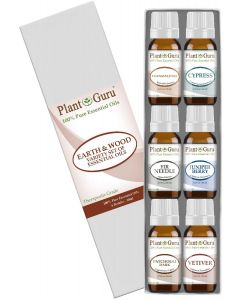 Earth & Wood Essential Oil Variety Set - 6 Pack