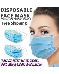 Disposable Face Mask 3 Ply Bulk Wholesale