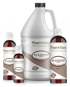 Flaxseed oil, Virgin, Unrefined