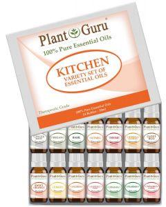 Kitchen Essential Oil Variety Set- 14 Pack 10 ml.