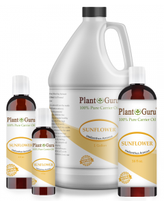 Sunflower Oil Cold Pressed 100% Pure Natural Carrier