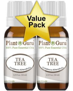Value Pk 2-10 ml Tea Tree (Melaleuca)100% Pure Therapeutic Grade