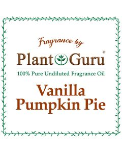 Vanilla Pumpkin Pie Fragrance Oil