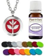 Essential Oil Diffuser Necklace Set With Lavender 10 ml