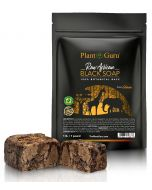 African Black Soap Raw 1lb. (Resealable Pouch)