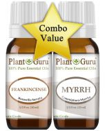 Frankincense and Myrrh Essential Oil. 10 ml. VALUE PACK