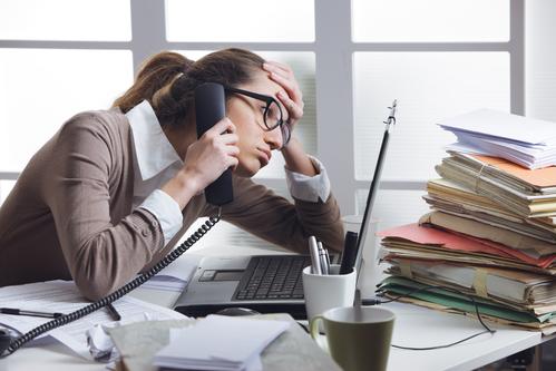 feeling overwhelmed at work