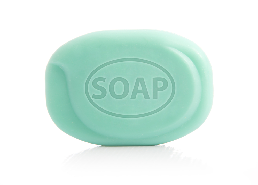 regular antibacterial soap