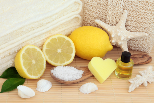 lemon body care