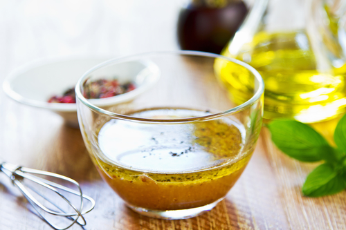 Adding Essential Oils To Salad Dressing