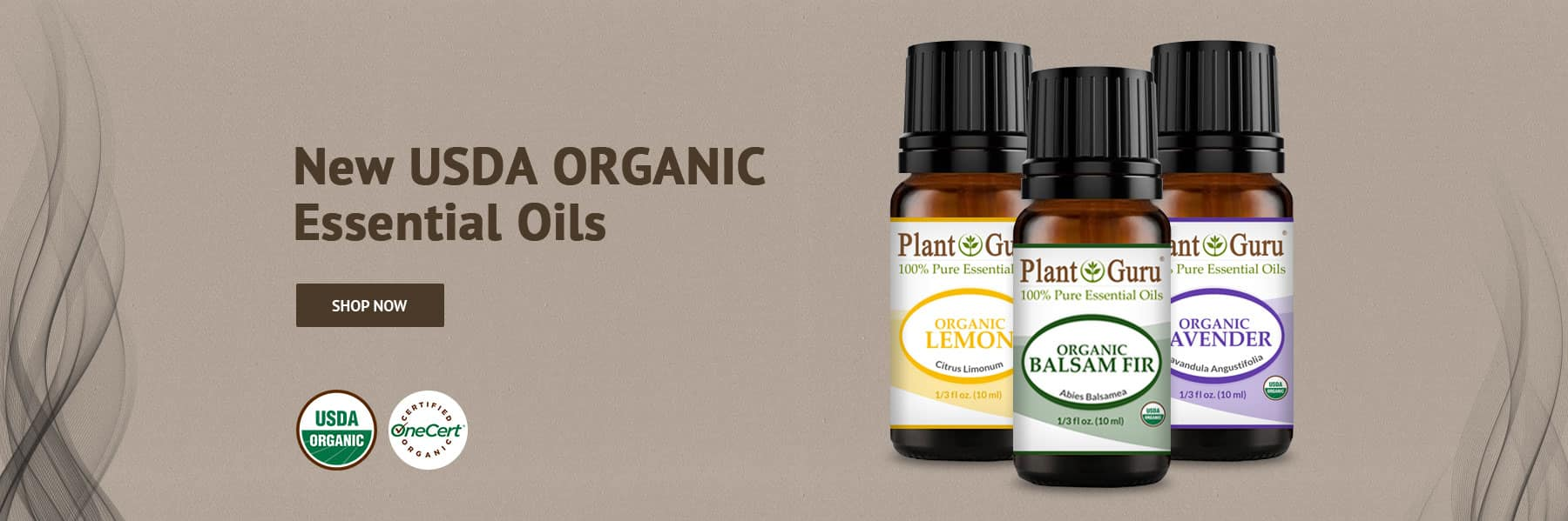 Organic Esseential Oils